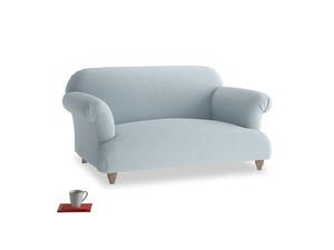 Small Soufflé Sofa in Scandi blue clever cotton
