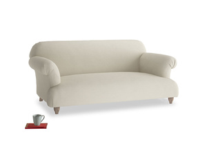 Medium Soufflé Sofa in Pale rope clever linen