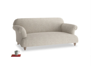 Medium Soufflé Sofa in Thatch house fabric
