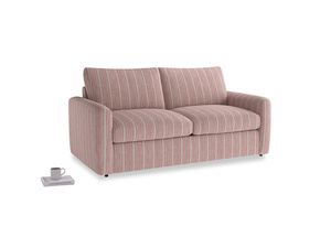 Chatnap Sofa Bed in Red french stripe with both arms