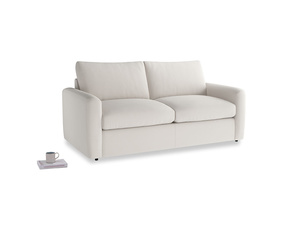 Chatnap Sofa Bed in Chalk clever cotton with both arms