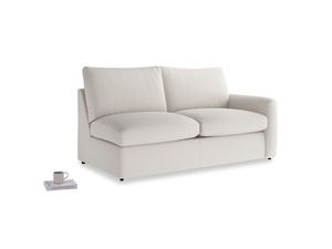Chatnap Sofa Bed in Chalk clever cotton with a right arm