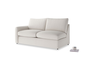 Chatnap Sofa Bed in Chalk clever cotton with a left arm