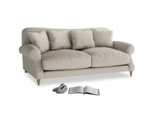 Medium Crumpet Sofa in Thatch house fabric