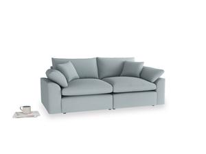 Medium Cuddlemuffin Modular sofa in Quail's egg clever linen