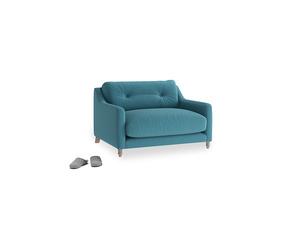 Slim Jim Love seat in Lido Brushed Cotton