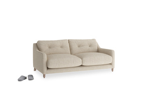 Small Slim Jim Sofa in Flagstone clever woolly fabric