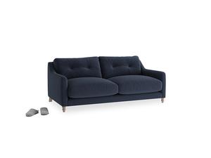 Small Slim Jim Sofa in Indigo vintage linen