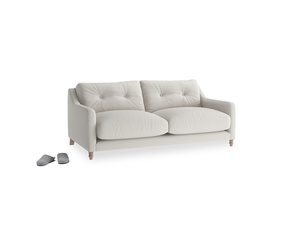 Small Slim Jim Sofa in Moondust grey clever cotton