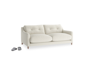Small Slim Jim Sofa in Oat brushed cotton