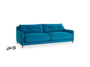 Medium Slim Jim Sofa in Bermuda Brushed Cotton