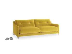 Medium Slim Jim Sofa in Bumblebee clever velvet
