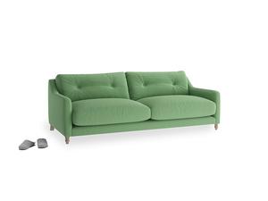 Medium Slim Jim Sofa in Clean green Brushed Cotton