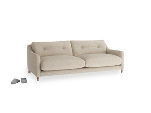 Medium Slim Jim Sofa in Flagstone clever woolly fabric