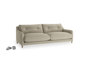 Medium Slim Jim Sofa in Jute vintage linen