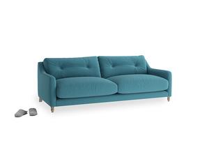 Medium Slim Jim Sofa in Lido Brushed Cotton
