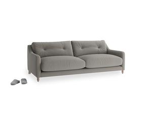 Medium Slim Jim Sofa in Monsoon grey clever cotton