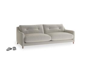 Medium Slim Jim Sofa in Smoky Grey clever velvet