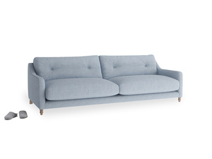 Large Slim Jim Sofa in Frost clever woolly fabric