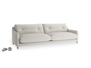 Large Slim Jim Sofa in Moondust grey clever cotton