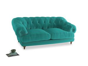 Medium Bagsie Sofa in Fiji Clever Velvet