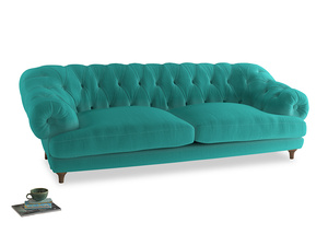 Extra large Bagsie Sofa in Fiji Clever Velvet