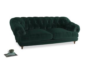 Large Bagsie Sofa in Dark green Clever Velvet