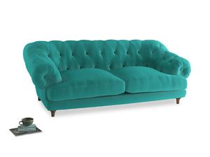 Large Bagsie Sofa in Fiji Clever Velvet
