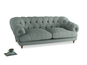 Large Bagsie Sofa in Sea fog Clever Woolly Fabric