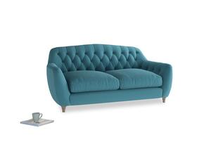 Medium Butterbump Sofa in Lido Brushed Cotton