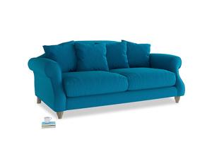 Medium Sloucher Sofa in Bermuda Brushed Cotton