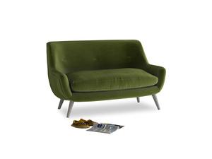 Small Berlin Sofa in Good green Clever Deep Velvet