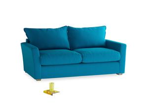 Medium Pavilion Sofa Bed in Bermuda Brushed Cotton