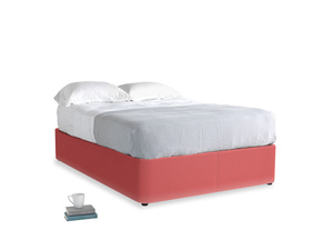 Double Store Storage Bed in Carnival Clever Deep Velvet