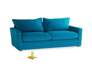 Large Pavilion Sofa Bed in Bermuda Brushed Cotton
