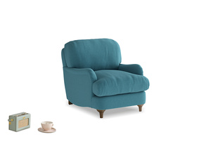 Jonesy Armchair in Lido Brushed Cotton