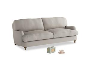 Medium Jonesy Sofa in Sailcloth grey Clever Woolly Fabric