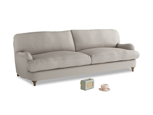 Large Jonesy Sofa in Sailcloth grey Clever Woolly Fabric