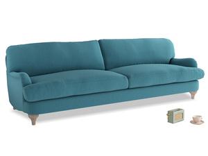 Extra large Jonesy Sofa in Lido Brushed Cotton