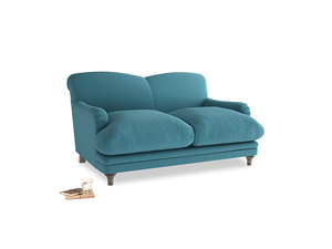 Small Pudding Sofa in Lido Brushed Cotton
