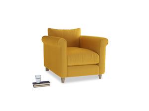 Weekender Armchair in Pollen Clever Deep Velvet