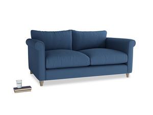 Medium Weekender Sofa in True blue Clever Linen