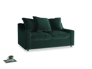 Small Cloud Sofa in Dark green Clever Velvet