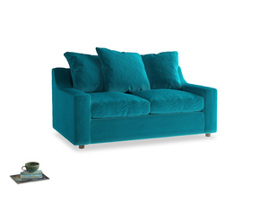 Small Cloud Sofa in Pacific Clever Velvet