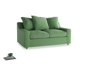 Small Cloud Sofa in Clean green Brushed Cotton