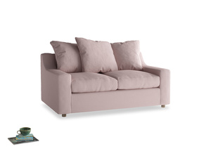 Small Cloud Sofa in Potter's pink Clever Linen