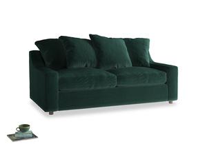 Medium Cloud Sofa in Dark green Clever Velvet