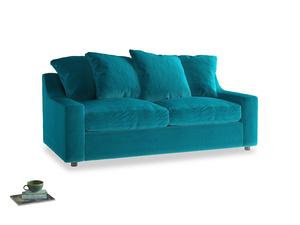 Medium Cloud Sofa in Pacific Clever Velvet