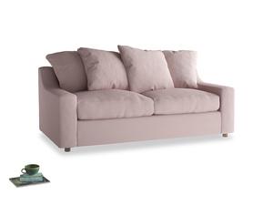 Medium Cloud Sofa in Potter's pink Clever Linen