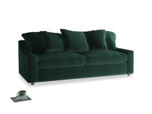 Large Cloud Sofa in Dark green Clever Velvet